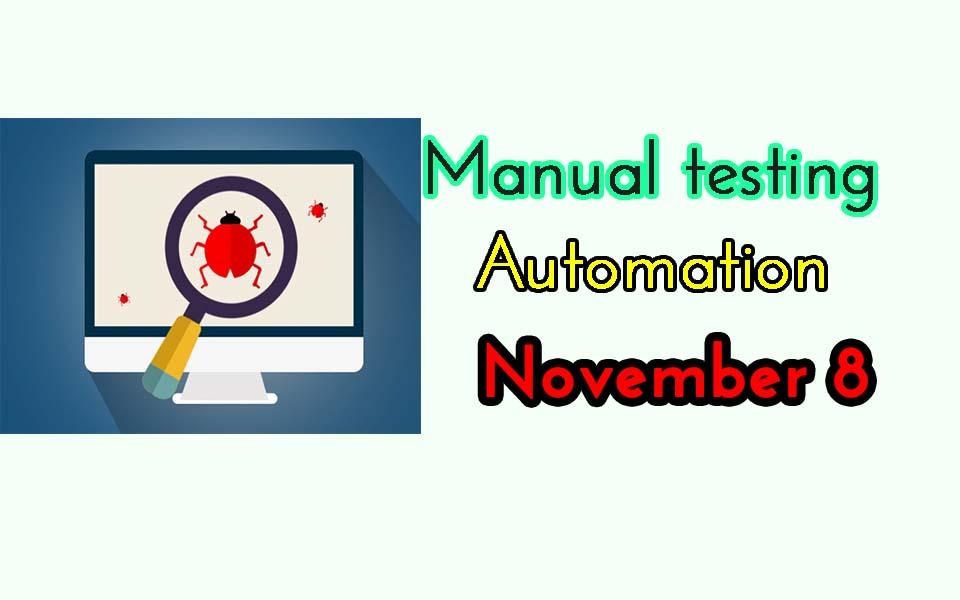 Testing Jobs November 8
