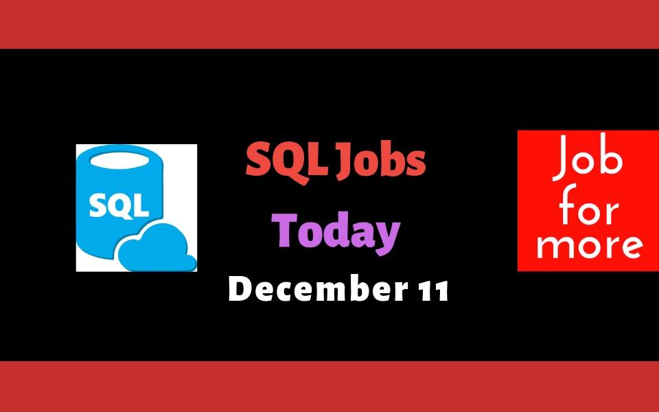 SQL Jobs