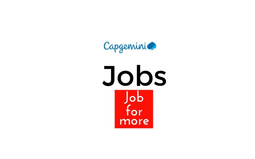 Capgemini hiring Selenium Test Analyst - Jobformore