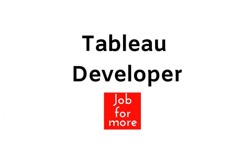Tableau Developer 1