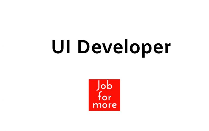 UI Developer Jobs