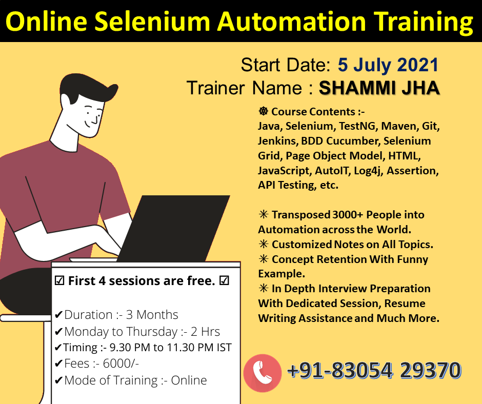 Online Selenium Automation Training