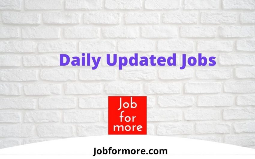 latest Jobs by jobformore